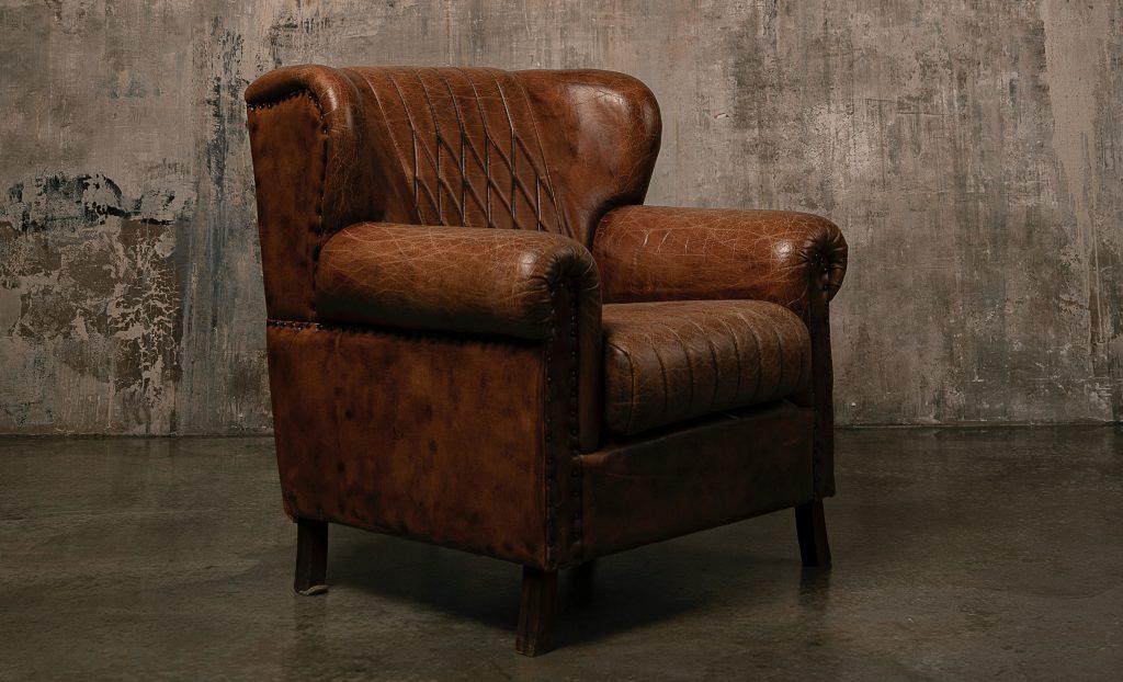 Les raisons d'acheter un fauteuil club Middletown en cuir pleine fleur